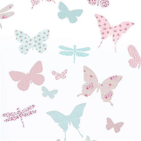 wall stickers butterfly children s butterfly fabric wall stickers by koko