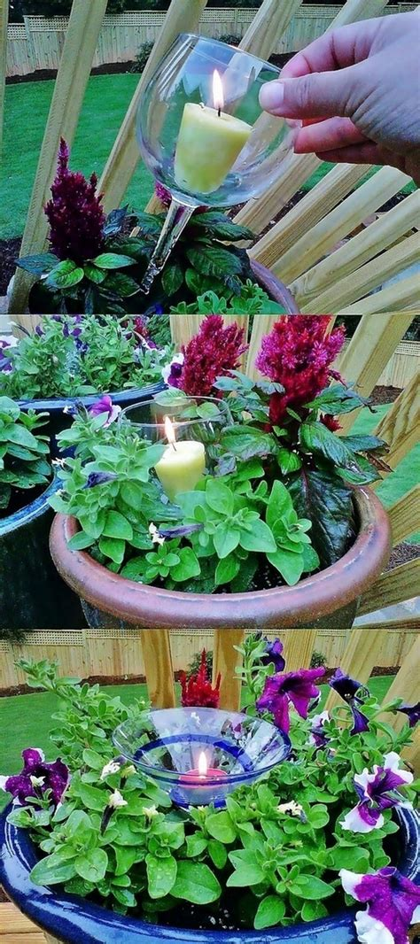 Outdoor Garden Decor Diy The Best Diy Ideas For Garden Decoration