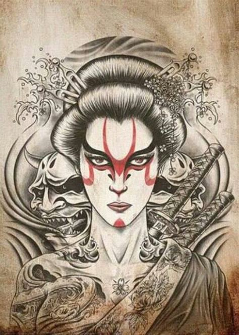 geisha tattoo wiki 17 best images about the female samurai on pinterest