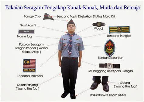 pengakap smk elopura  pemakaian baju uniform pengakap