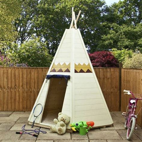 how to make a backyard teepee build your kids a wooden teepee tent diy projects for