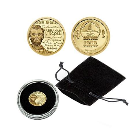 abraham lincoln gold coin 2015 proof limited edition of 15 000 abraham lincoln 9999