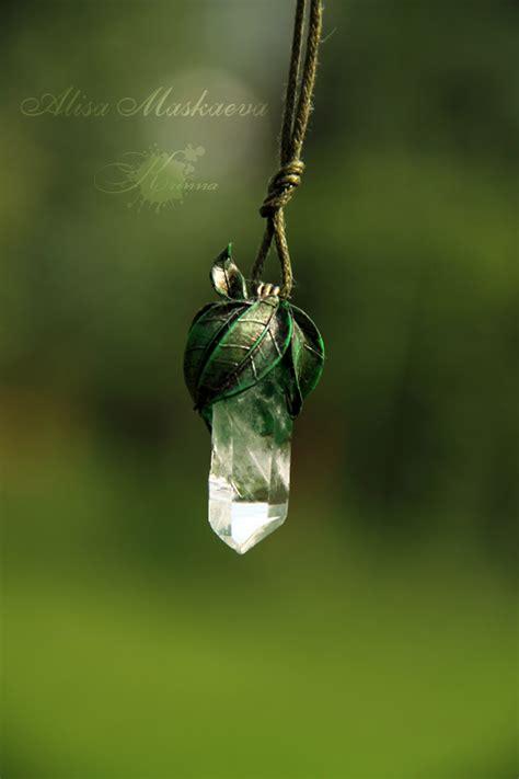 elven nature pendant by krinna on deviantart