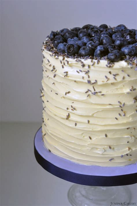 Blueberry Cake Decoration by Blueberry Lavender And White Chocolate Cake With The