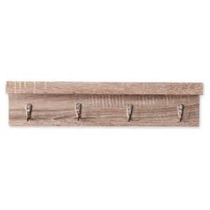 shelves with hooks liza wall shelf with hooks oak finish target