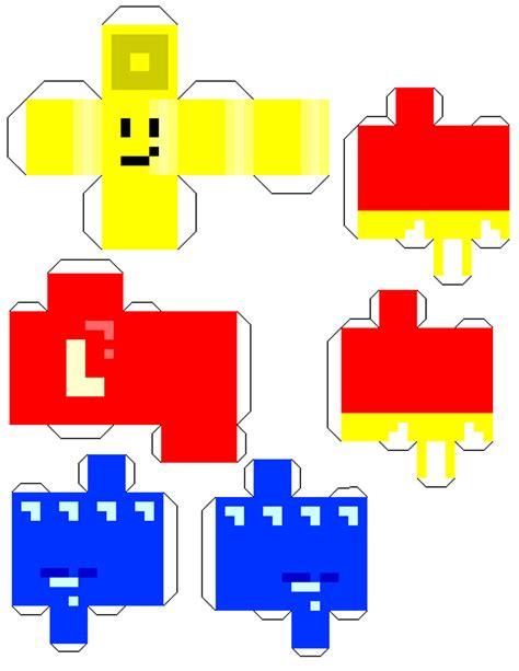 Lego Papercraft - papercraft lego minifigure