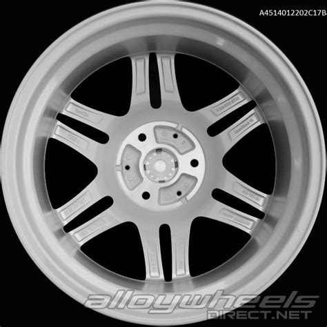Smart Wheel Mono Wheel D 04 17 quot smart brabus mono vi wheels in silver polished surface alloy wheels direct 132989