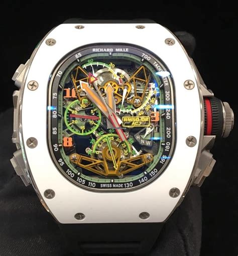 Richadr Mille richard mille tourbillon split second chrono airbus corp jets for 875 000 for sale from a