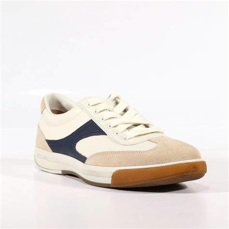 mens prada sport shoes prada sports mens shoes white navy leather sneakers 4e1562