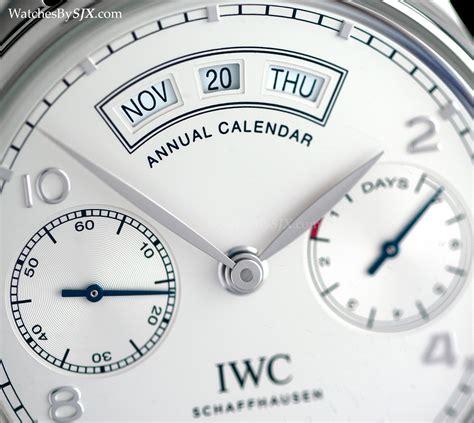 cost of a calendar iwc portugieser annual calendar cost