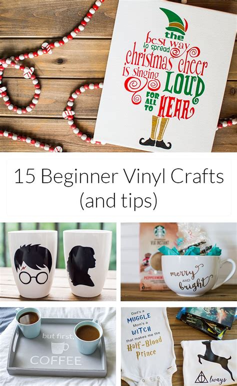 Papercraft Tips - 15 beginner vinyl crafts tips simply made 187 make