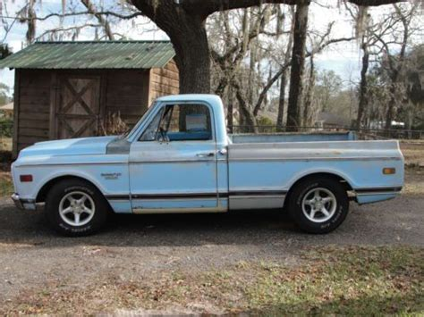 short bed truck cer buy used 69 chevy short bed truck in green cove springs