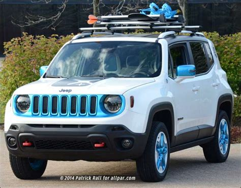 white jeep with teal accents 2014 jeep and ram concepts riptied promaster