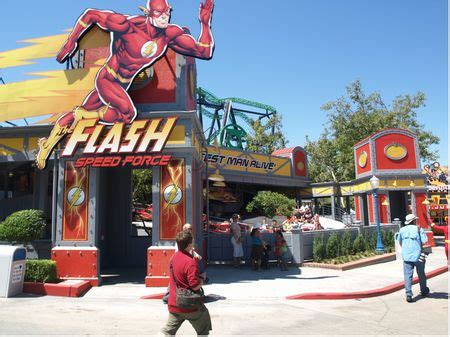 flash speed force at six flags magic mountain