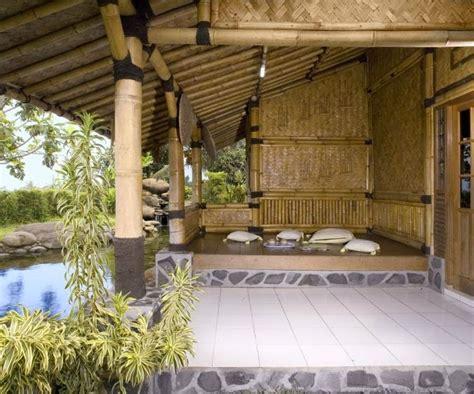 model rumah bambu minimalis model rumah minimalis