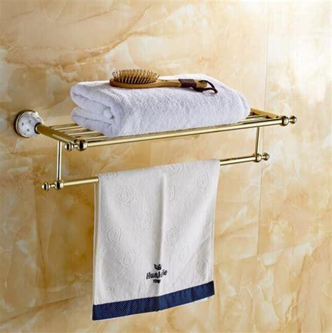 hotel bathroom towel shelf 2016 high quality cooper bathroom towel rack holder hotel