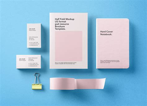 basic business card template psd free premium basic stationery branding template mockup psd