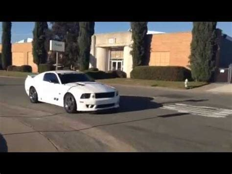 2007 ford mustang saleen extreme s281 supercharged road