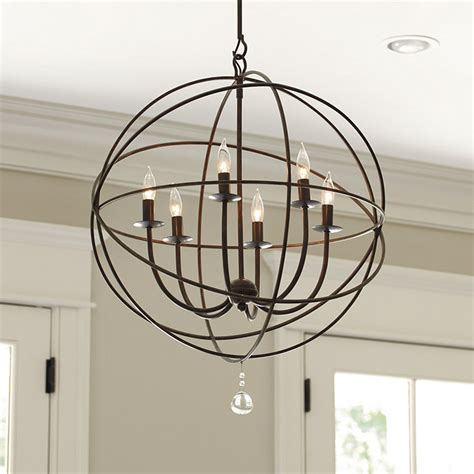 Ballard Designs Sofa diy orb light fixture from thrifty decor chick