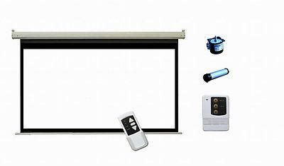 Motorized Screen Proyektor 213x213cm antra psa 128a 16 9 electric motorized projector