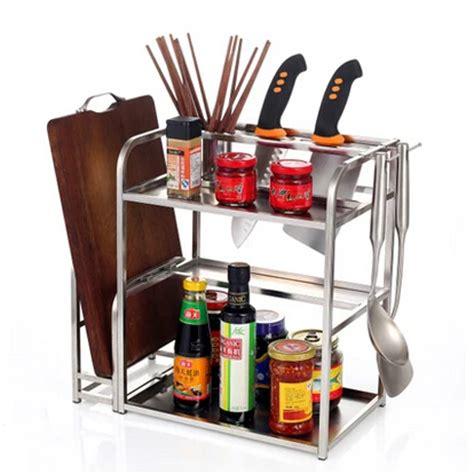 Spice Jar Storage Rack New Layer Kitchen Shelf Spice Rack Multi Purpose