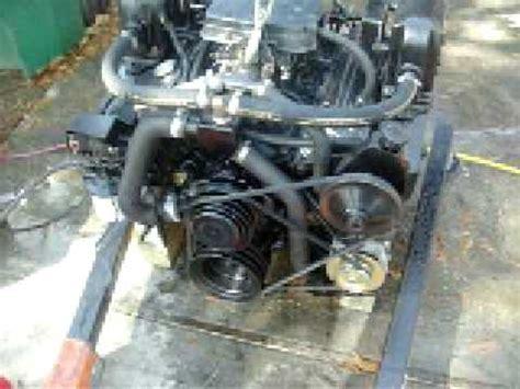 5.7 small block chevy 350 rebuilt marine engine test youtube