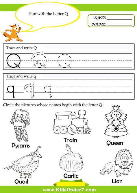 Letter Q Worksheets by Free Worksheet Letter Q Worksheet Phinixi Worksheets