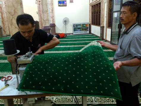 Karpet Polos Biasa karpet masjid 087877691539 al husna kebutuhan masjid