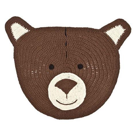 alfombra oso crochet alfombras infantiles alfombras para ni 209 os infantiles y