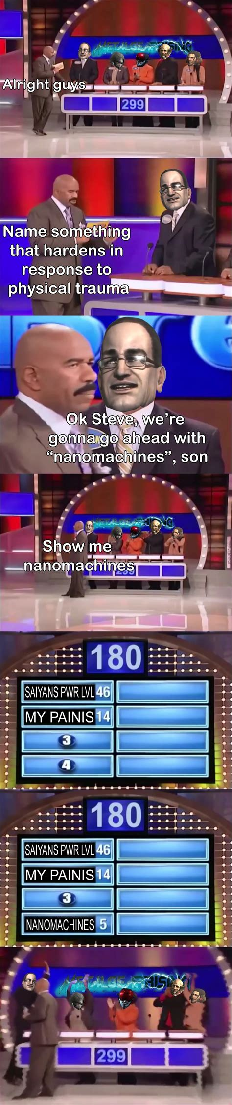 Family Feud Meme - family feud rising revengeance by armyandstuff meme center