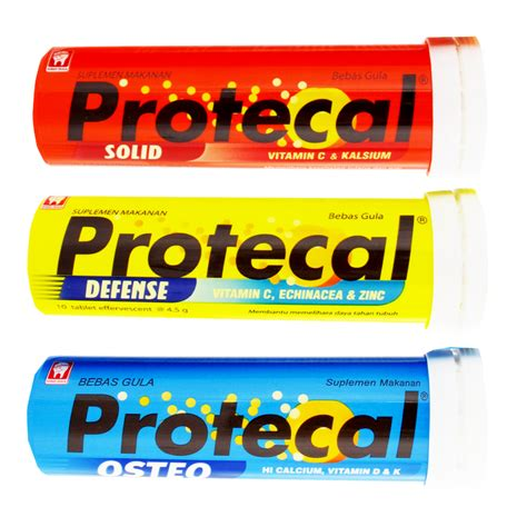 protecal solid 10s protecal by konimex 10 tablet 4 5gr elevenia