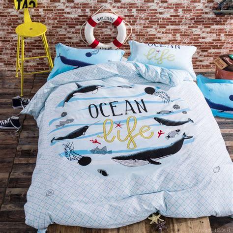 shark bedding full shark bed sheets promotion shop for promotional shark bed sheets on aliexpress com