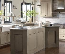 delightful Kitchen Gray Walls White Cabinets #4: taupe_kitchen_cabinets_4.jpg