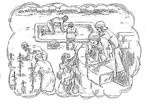 coloring page for the unforgiving servant free coloring pages of parable of the unmerciful servant
