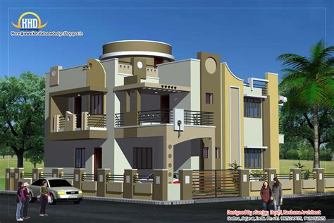 house with floor plans and elevations duplex house plan and elevation 3122 sq ft kerala home design and floor plans
