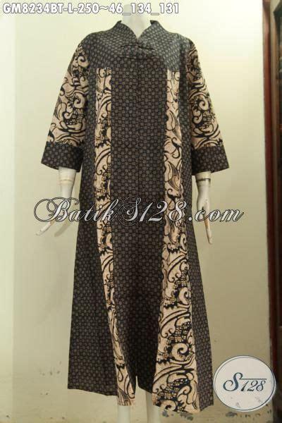 model baju batik gamis terbaru hadir  desain mewah