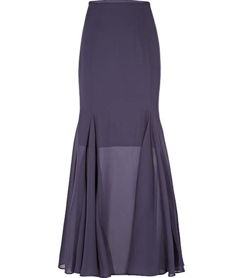 maxi flare skirt dress