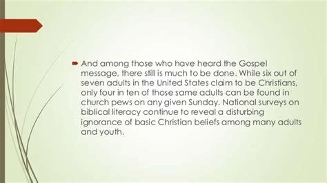 door to door evangelism survey evangelism