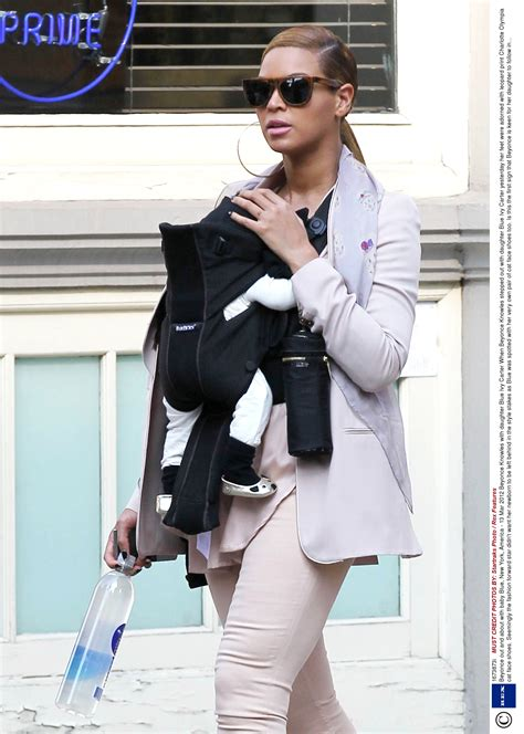 beyonce slippers spotted beyonce and blue out and about in matching