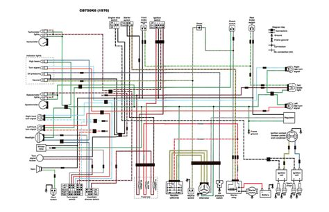 wiring diagram honda cb750 wiring diagram chopper 1978