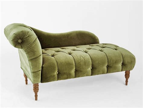 traditional chaise edie velvet chaise green traditional indoor chaise