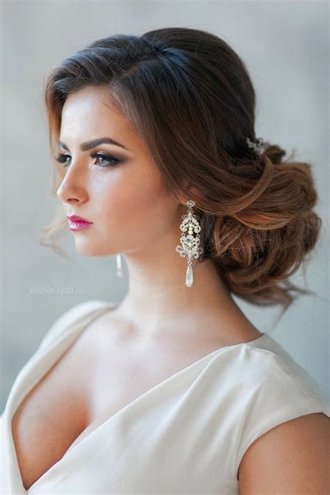 Glamorous Hairstyles by Ideas Glamorous Hairstyles For Brides Or Bridesmaids