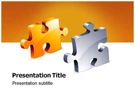 powerpoint jigsaw puzzle template free jigsaw powerpoint templates and backgrounds
