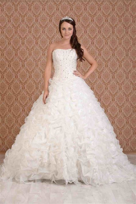 Beautiful Wedding Gowns by Collection Of Strapless For Attractive Princess