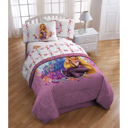 rapunzel twin bedding disney s tangled rapunzel sheet set walmart