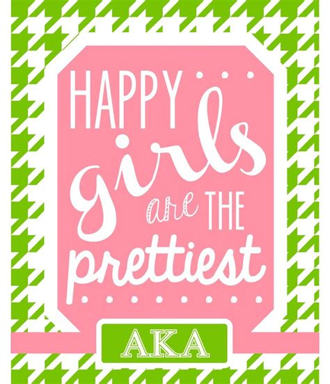 aka sorority colors happy are the prettiest print college