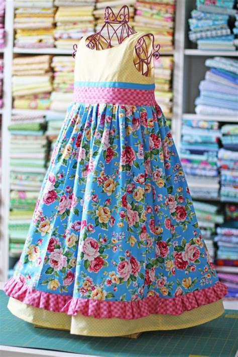 pattern dress free girl little girls dress patterns sew sew pinterest girl