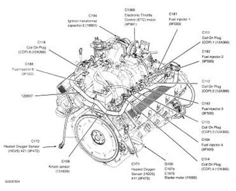 ford f150 engine diagram f150 5 4l engine diagram autos weblog