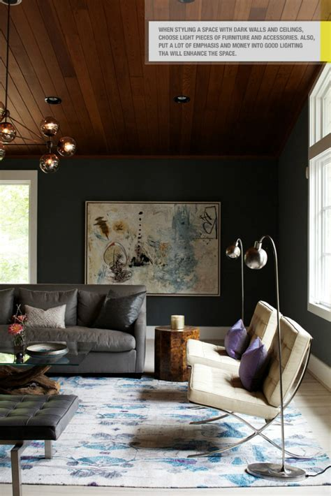 dark room ideas living room with dark dramatic walls 30 ideas decor advisor