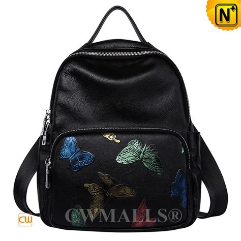 Backpack Butterfly butterfly printed leather backpack cw207016